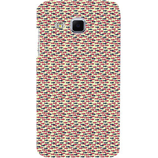 ifasho Modern Art Design Pattern Lot of fish Back Case Cover for Samsung Galaxy J3