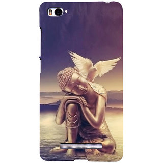 ifasho Lord Budha Back Case Cover for Redmi Mi4i