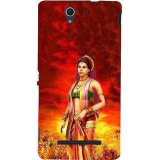 ifasho Draupadi Mahabharat Back Case Cover for Sony Xperia C3 Dual