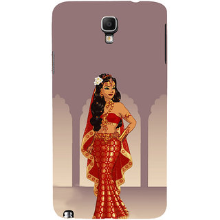 ifasho Draupadi Mahabharat Back Case Cover for Samsung Galaxy Note3 Neo