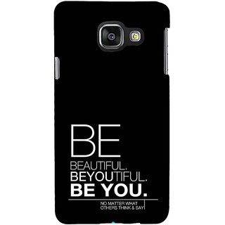ifasho beautiful qoutes Back Case Cover for Samsung Galaxy A3 A310 (2016 Edition)