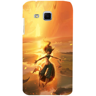 ifasho Girl in water animated Back Case Cover for Samsung Galaxy J3