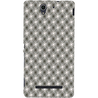 ifasho Animated Pattern Littel Flowers Back Case Cover for Sony Xperia C3 Dual