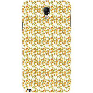 ifasho Modern Art Design animated cloth Pattern of flower Back Case Cover for Samsung Galaxy Note3 Neo