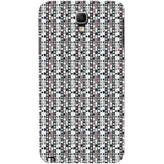 ifasho Animation Clourful Circle Pattern Back Case Cover for Samsung Galaxy Note3 Neo