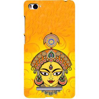 ifasho Godess Durga head Back Case Cover for Redmi Mi4i