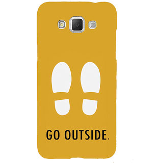 ifasho life Quotes go outside Back Case Cover for Samsung Galaxy Grand Max