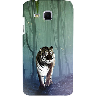 ifasho Animated Pattern With Tiger Back Case Cover for Samsung Galaxy J3