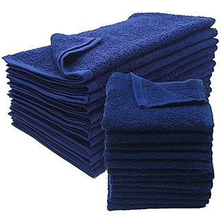 American Terry Mills Cotton-Salon-Towels Gym-Towel Hand-Towel, 100% Ringspun-Cotton, Maximum Softness & Absorbency, Easy