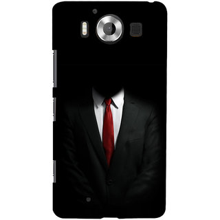 ifasho Gentle man Back Case Cover for Nokia Lumia 950