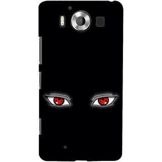 ifasho Cartoon Eyes Back Case Cover for Nokia Lumia 950