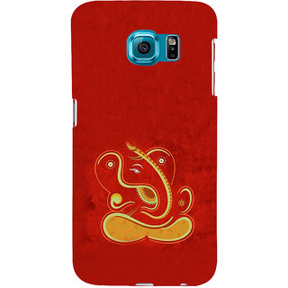 ifasho Modern Art Ganesh Back Case Cover for Samsung Galaxy S6 Edge Plus