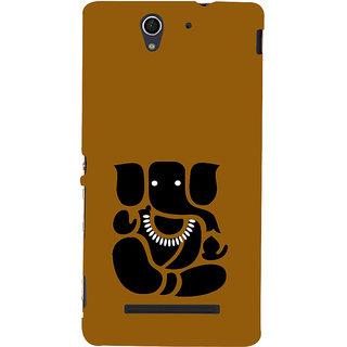 ifasho Modern Art Ganesh Back Case Cover for Sony Xperia C3 Dual
