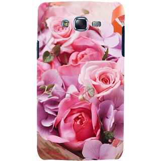 ifasho Red Rose Back Case Cover for Samsung Galaxy J7 (2016)