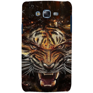 ifasho Roaring Tiger  Back Case Cover for Samsung Galaxy J7