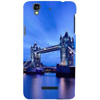 ifasho London Bridge Back Case Cover for YU Yurekha
