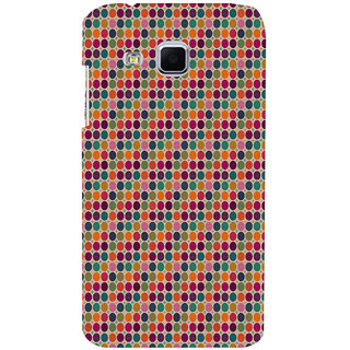 ifasho Animated Pattern  littel and Big colourful Circle Back Case Cover for Samsung Galaxy J3