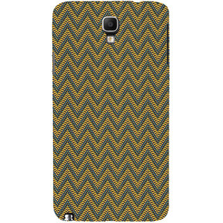 ifasho Animated Pattern of Chevron Arrows  Back Case Cover for Samsung Galaxy Note3 Neo