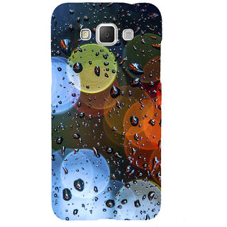 ifasho water Drop on colorful glass Back Case Cover for Samsung Galaxy Grand Max