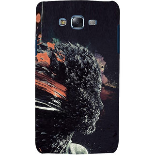 ifasho Girl animation face Back Case Cover for Samsung Galaxy J7
