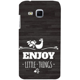 ifasho enjoy little things Back Case Cover for Samsung Galaxy J3