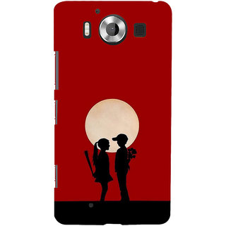 ifasho Boy and girl love Back Case Cover for Nokia Lumia 950