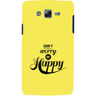 ifasho Dont worry be happy Back Case Cover for Samsung Galaxy J5