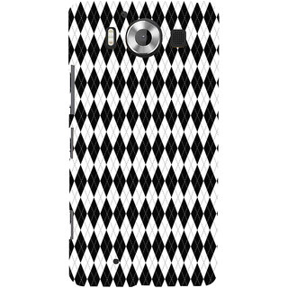 ifasho Animated Pattern of Chevron Arrows royal style Back Case Cover for Nokia Lumia 950