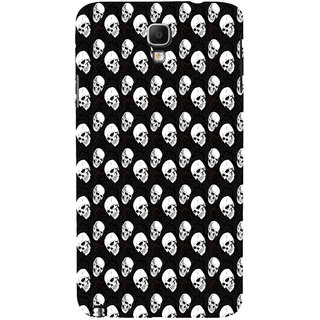 ifasho Modern  Design skeleton Pattern Back Case Cover for Samsung Galaxy Note3 Neo