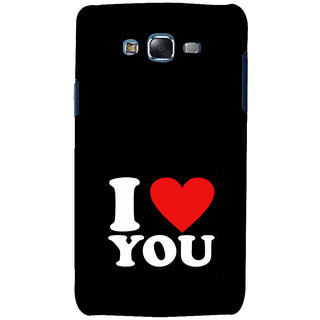 ifasho Love Quotes I love you Back Case Cover for Samsung Galaxy J5