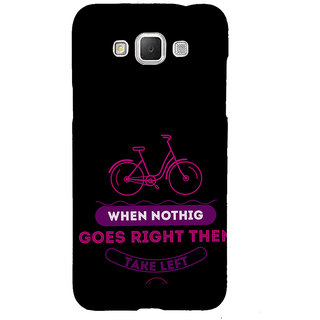 ifasho Right and Wrong Quote Back Case Cover for Samsung Galaxy Grand Max