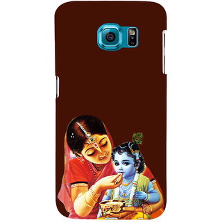 ifasho Yasoda krishna Back Case Cover for Samsung Galaxy S6 Edge Plus