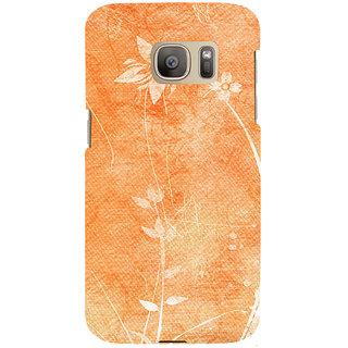 ifasho Animated Pattern colrful 3Daditional design cloth pattern Back Case Cover for Samsung Galaxy S7 Edge