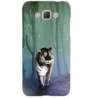 ifasho Animated Pattern With Tiger Back Case Cover for Samsung Galaxy Grand Max