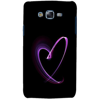 ifasho Modern Art Design heart animated Back Case Cover for Samsung Galaxy J7