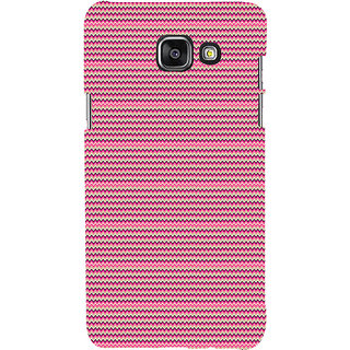 ifasho Animated Pattern of pink lining pattern Back Case Cover for Samsung Galaxy A5 A510 (2016 Edition)