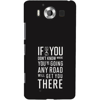 ifasho Life quote Back Case Cover for Nokia Lumia 950