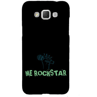 ifasho me rock star quote Back Case Cover for Samsung Galaxy Grand Max