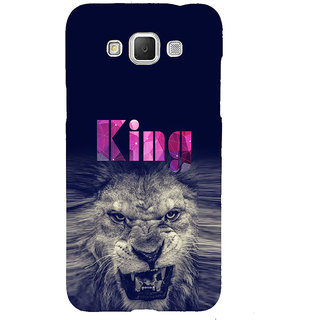 ifasho Angry Lion King Back Case Cover for Samsung Galaxy Grand Max
