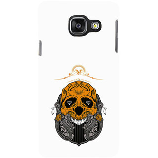 ifasho Modern  Design animated skeleton Back Case Cover for Samsung Galaxy A3 A310 (2016 Edition)