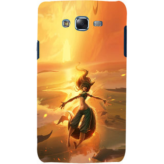 ifasho Girl in water animated Back Case Cover for Samsung Galaxy J5