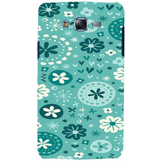 ifasho Modern Art Design animated cloth Pattern of flower Back Case Cover for Samsung Galaxy J5