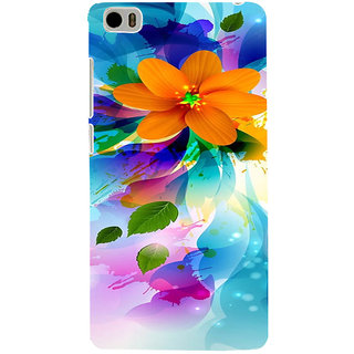 ifasho Flower Design multi color Back Case Cover for Redmi Mi5