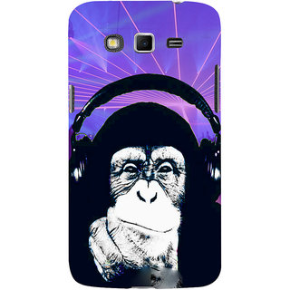 ifasho Monkey with headphone Back Case Cover for Samsung Galaxy Grand