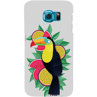 ifasho wood peacker Bird sitting animated design Back Case Cover for Samsung Galaxy S6 Edge Plus