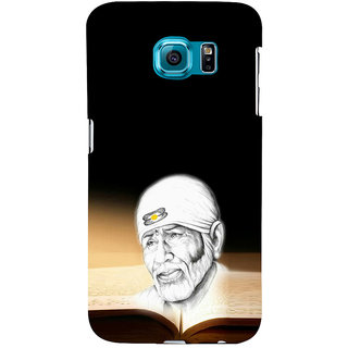 ifasho Sai baba Back Case Cover for Samsung Galaxy S6 Edge Plus