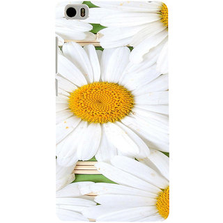 ifasho Pattern white flower Back Case Cover for Redmi Mi5