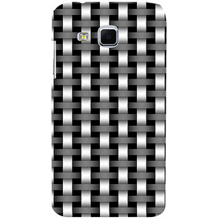 ifasho Modern Art Design animated cloth Pattern of black and white bamboo style Back Case Cover for Samsung Galaxy J3