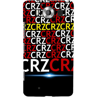 ifasho Crazy Quotes Back Case Cover for Nokia Lumia 950