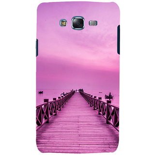 ifasho walking wooden bridge on a sea Back Case Cover for Samsung Galaxy J7 (2016)